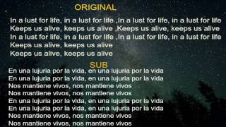 Lana Del Rey - Lust For Life (ft. The Weeknd) Lyrics & Sub ESPAÑOL