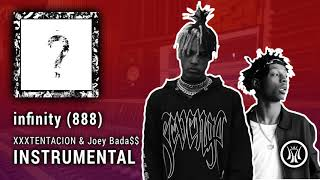 XXXTENTACION ft. Joey Bada$$ - infinity (888) INSTRUMENTAL (prod. P. Soul on the track)