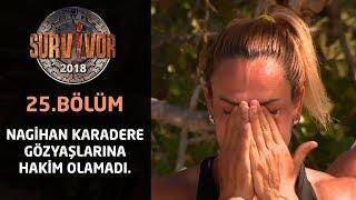 Ödülü duyan Nagihan gözyaşlarını tutamadı! | 25. Bölüm | Survivor 2018