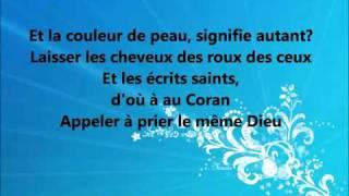 Parole Colonel Reyel- Mon rêve