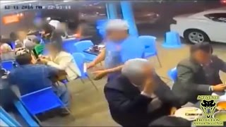 Armed Patron Ruins Armed Robbers Day | Active Self Protection