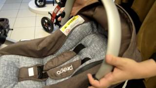 Prego 2070 Yeni Laon Travel Bebek Arabası   İlke Bebe