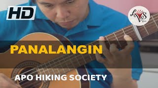 Panalangin - APO Hiking Society (solo guitar cover)