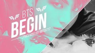 BTS (JungKook)  - BEGIN Lyrics [KOR/ENG]