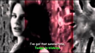 Lana Del Rey ft.Cedric Gervais- Summertime Sadness (Official Video) [Lyrics- Sub Español]