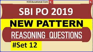 New Pattern Reasoning Questions (Direction Based) for SBI PO 2019 SET 12