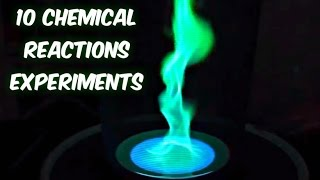 10 Amazing Chemical Reactions Complication width=