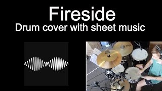 Arctic monkeys - Fireside Drum Cover With Sheet Music Tab