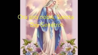 † Latin Rosary (03 of 17) Angelus in Gregorian Chant