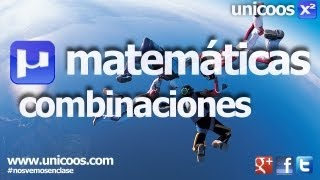 Imagen en miniatura para Combinatoria 01 - Combinaciones sin repeticion