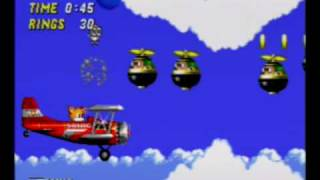 Sonic the Hedgehog 2 - Sky Chase Zone