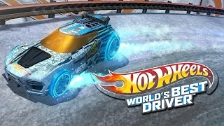 #2 Hot Wheels World's Best Driver - Blue Team - Stage 1 - Gameplay - Walkthrough - Video Game
