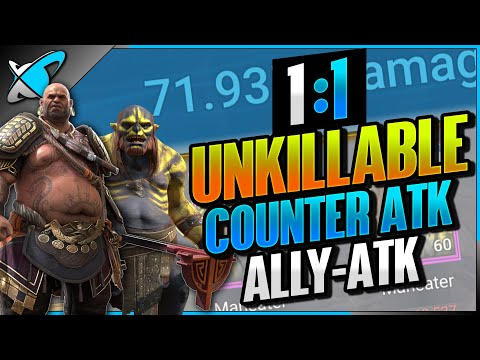 """1-Key UNM """"1:1 Unkillable + Counterattack + Ally-Attack"""" 