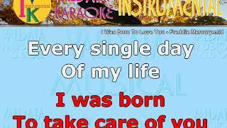 I Was Born To Love You   Freddie Mercury   Karaoke   Instrumental
