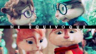 Alvin x Brittany ♥ Simon x Jeanette - Me Equivoque (Alvin y las ardillas)