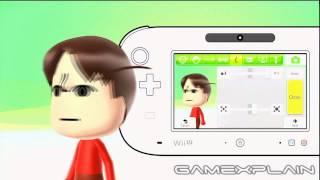 Wii U OS: Mii Creator