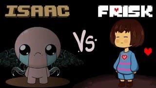 FRIKI RAP BATTLE: ISAAC VS FRISK