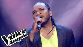 """Wilton dos Santos - """"Esse cara sou eu"""" / The Voice Angola 2015: Audição Cega"""