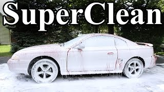 How to SUPER CLEAN Your Car (Best Clean Possible) width=