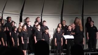 Nolan's Fall Choir Concert   Artza Alinu