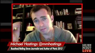 Michael Hastings Describes Obama's 'Weirdest Moment With The Media'
