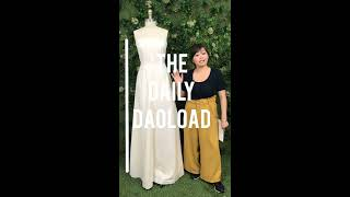 The Daily Doaload - Modifying a Vintage Gown Pattern Part I