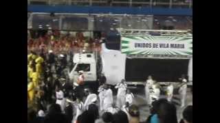 Unidos de Vila Maria 2013 Desfile Oficial