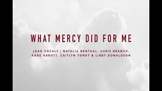 What Mercy Did For Me | At The Cross | IBC LIVE 2018 width=
