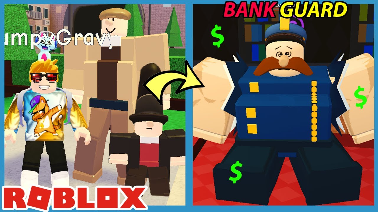 GravyCatMan - ROBLOX BIG BANK ROBBERY STORY