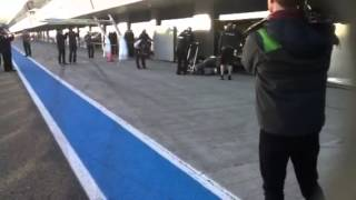 jerez 2014 - S'accende la #F1 Anzi, la #Mercedes si spegne