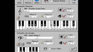 Lanterna dos Afogados - Paralamas do Sucesso ( Piano Eletrônico 2.5 )