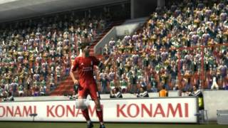 PES 2011 Long range Goal by Gerrard