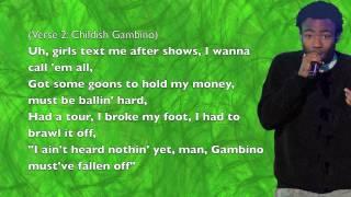 Childish Gambino - Burban In The Booth (ft. Riz MC)