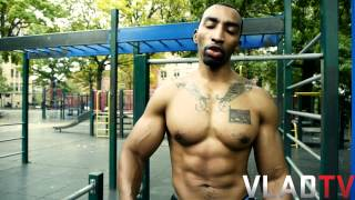 Mysonne's Street Work Out - Pull Ups