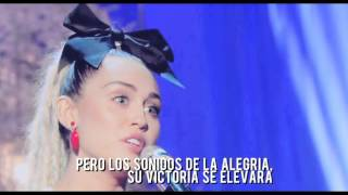 Miley Cyrus - Hands Of love | Traducido al Español