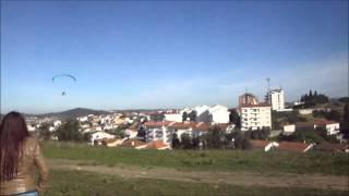 Parapente em Coimbra ( Voos na Pedrulha com o Nelson e Graciete 03/02/2013 ) emotionfly.com