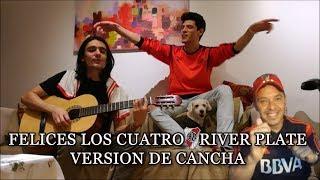 """RIVER PLATE - Tema nuevo """"FELICES LOS 4 - Maluma"""" 2017"""