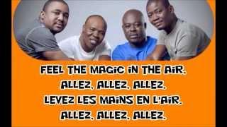 Magic system - Magic in the air lyrics