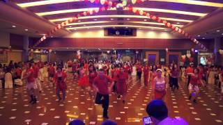 Dance & Shout - Line dance demo. by Darren Bailey