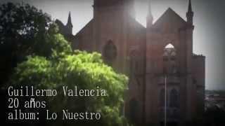 Guillermo Valencia -20 años- cover