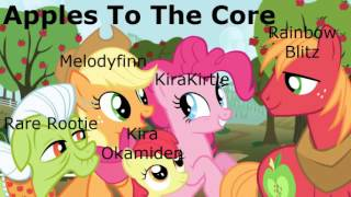 Apples To The Core (collab cover)
