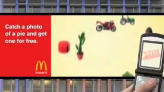 McDonald's interactive billboard