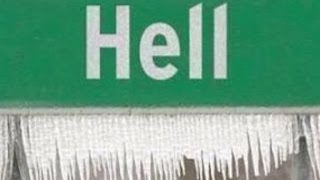 It's official: Hell, Michigan freezes over