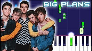 Why Don't We - BIG PLANS Piano Tutorial (Piano Cover)