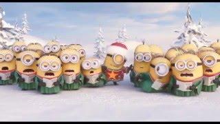 Green Dino lakossági és közületi játszótér gyártó karácsonyi üdvözlete minyonok