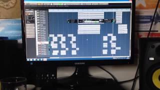 Atlas recording their cover of Mastodon- Crack The Skye (Vocal sneak Peak)