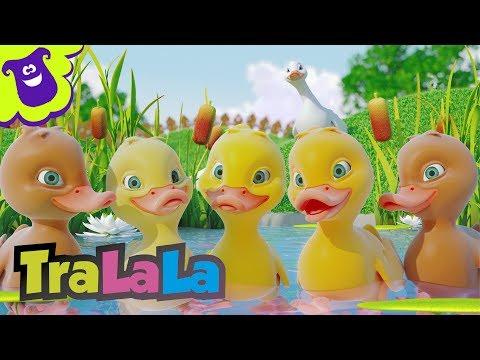 Cinci rățuște (Five Little Ducks în română)
