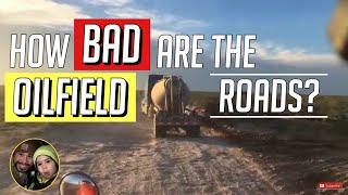 Hauling Frac Sand sandboxes in West Texas Trucking VLOG