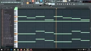 Aly & Fila & Ferry Tayle - Napoleon (Melody) Fl Studio 12