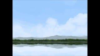 Photoshop Lake Speedpaint